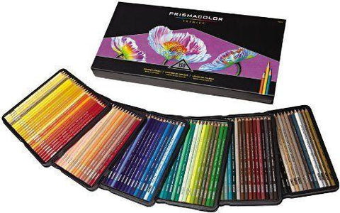 150 Prismacolor pencils - A premier set of colored pencils for coloring, drawing - Adventacle