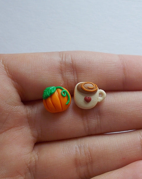 Fall for autumn earrings, handmade - Adventacle