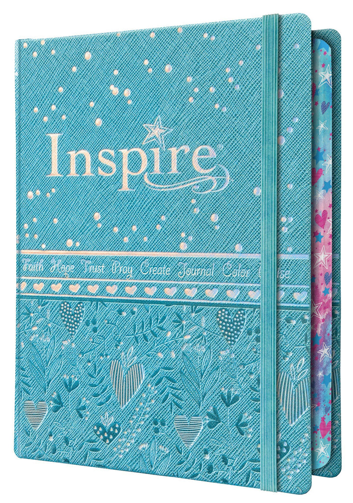 Inspire Bible for Girls | New Living Translation | Birthday gift for girls, Daughter gift, Niece gift, Grand daughter gift | Coloring bible - Adventacle