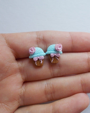 My little cupcake earrings - Adventacle