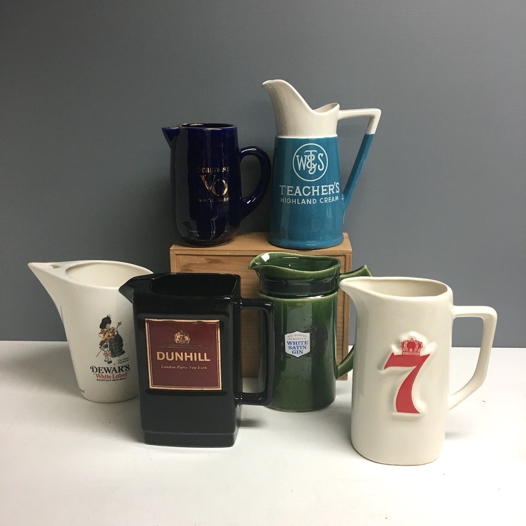Vintage Sleuthing: Pub jugs - where advertising meets barware