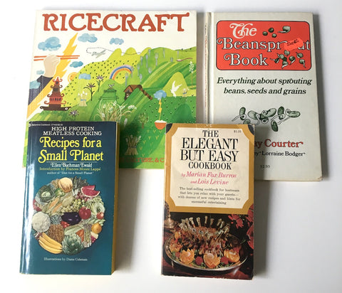 niche vintage cookbooks