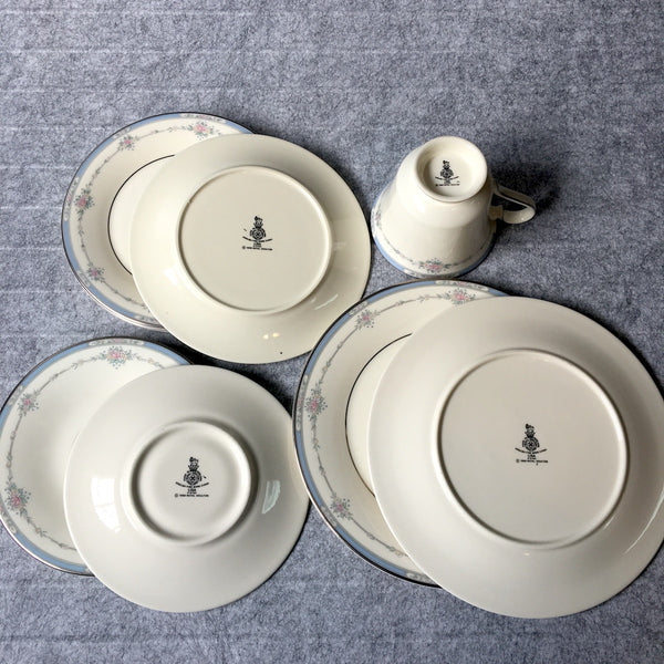 Royal Doulton Mixed Lot of 8 Lisa Pattern H5154 - NextStage Vintage