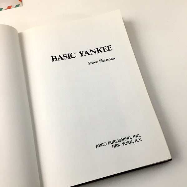 Basic Yankee by Steve Sherman - 1984 - stories of the people of New England - NextStage Vintage