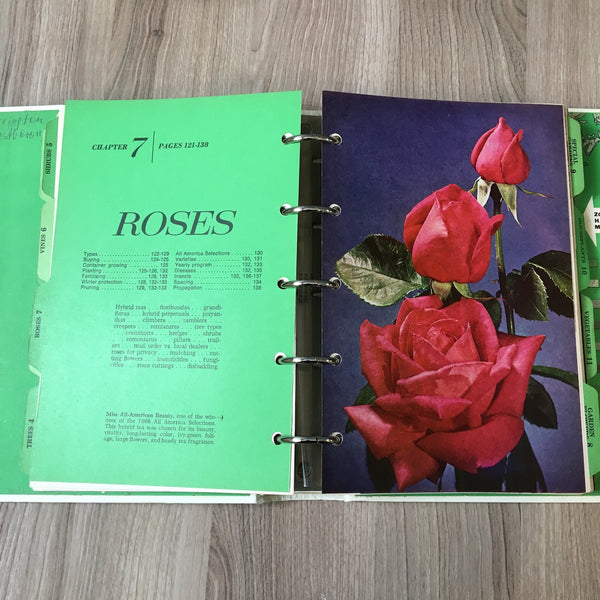 Better Homes and Gardens New Garden Book - 5 ring binder - 1968 third edition