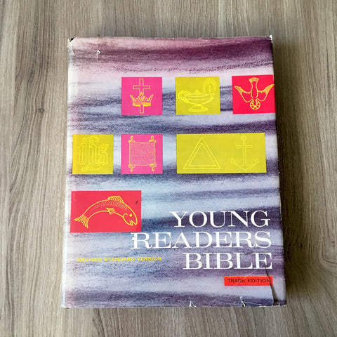 Young Reader's Bible - Trade Edition - 1965 hardcover - NextStage Vintage