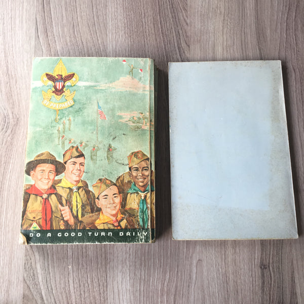 Boy Scout Handbook and Boy Scout Requirements - two 1969 editions - NextStage Vintage