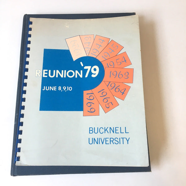 Bucknell University 1964 yearbook - vintage PA college annual and reunion booklet - NextStage Vintage