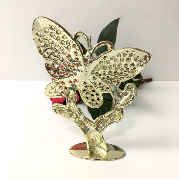 Butterfly pierced earring holder - 1970s - NextStage Vintage