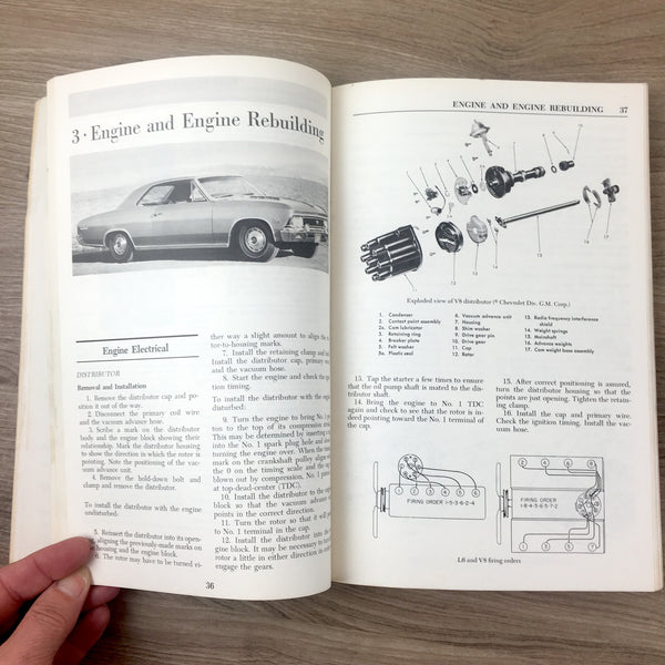 Chilton's Repair and Tune-Up Guide Chevelle El Camino 1964-1972 and Monte Carlo 1970-1972 - NextStage Vintage