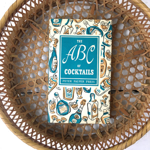 The ABC of Cocktails - Peter Pauper Press - 1962 hardcover - NextStage Vintage