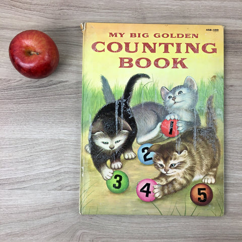 My Big Golden Counting Book by Lilian Moore - 1957 hardcover