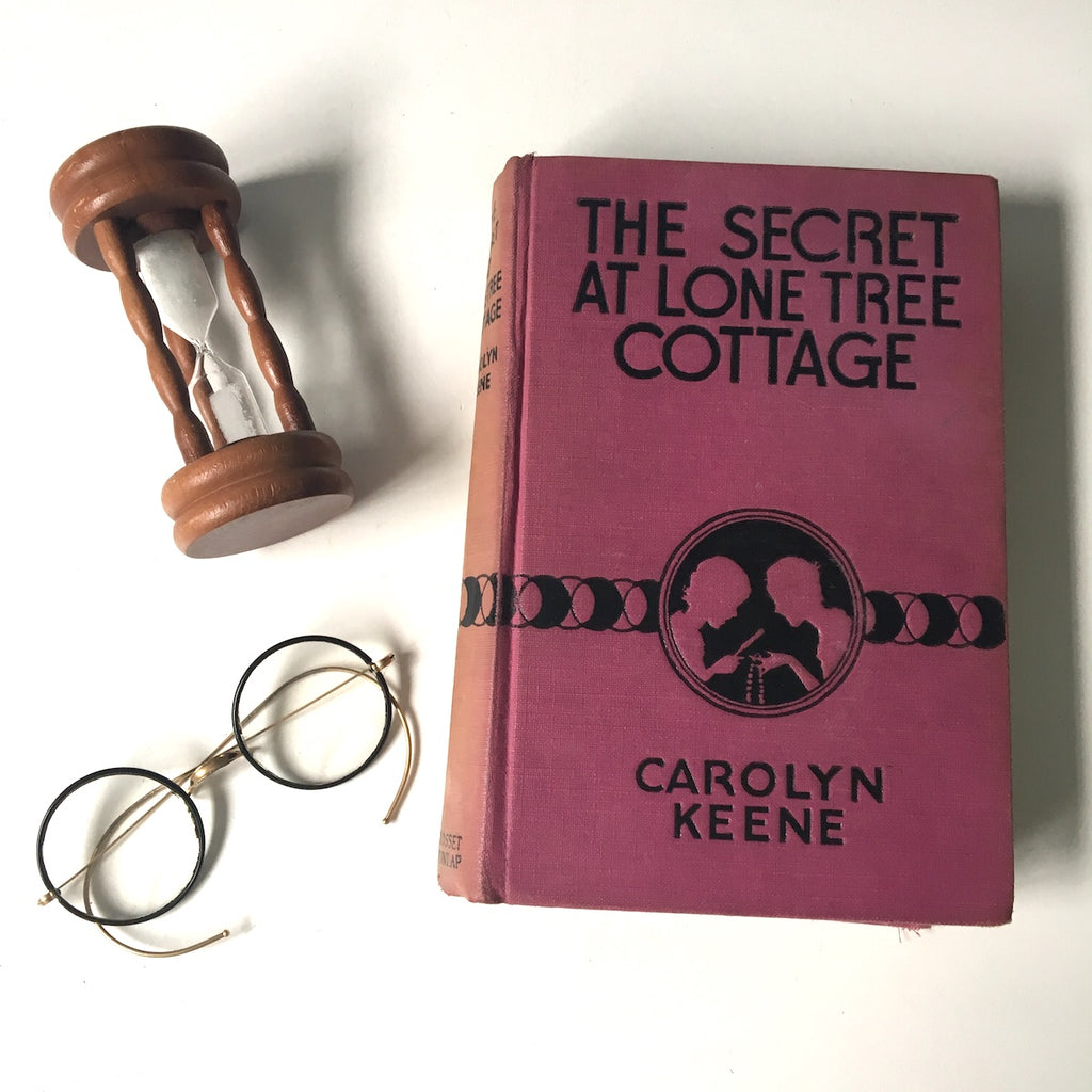 The Secret at Lone Tree Cottage by Carolyn Keene - 1934 Dana Girls mystery - NextStage Vintage