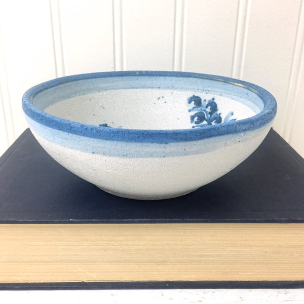 "Dorchester Pottery blueberry bowl - CAH - 5.75"" - NextStage Vintage"