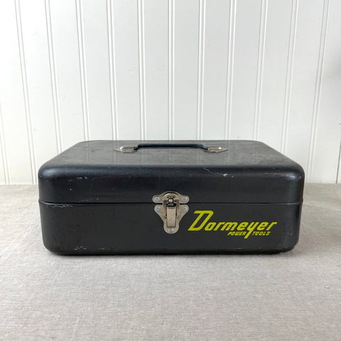Dormeyer Power Tools metal storage box - vintage industrial box - NextStage Vintage
