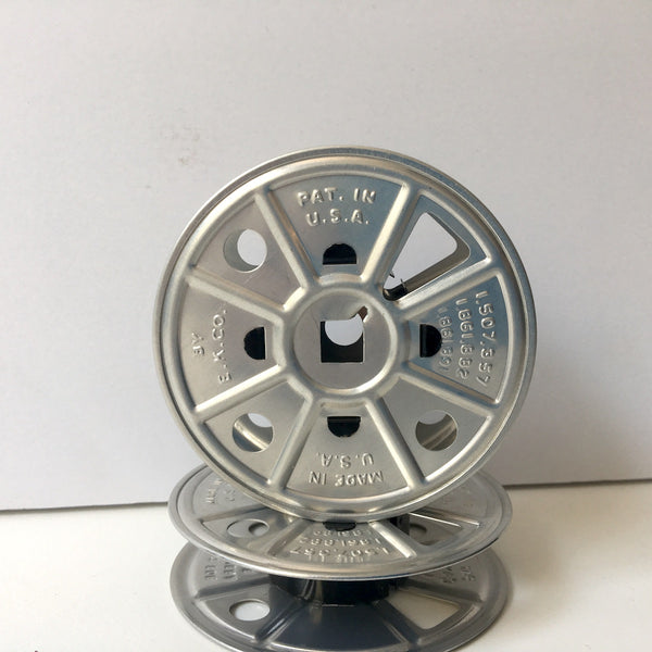 E.K. Co 16 mm film spools - set of 5 - vintage 1930s - NextStage Vintage