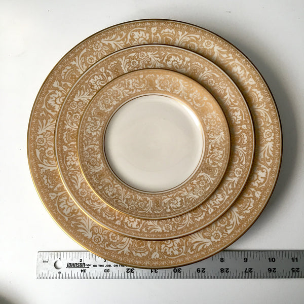 Franciscan Masterpiece Gold Renaissance china - 11 pieces