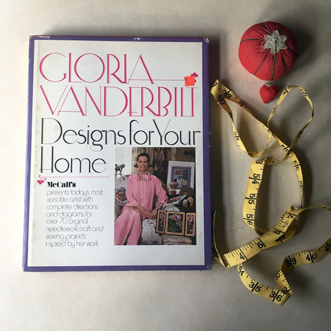 Gloria Vanderbilt Designs for Your Home - Phyllis Hingston Roderick - 1977 - NextStage Vintage