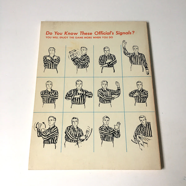 Ice Hockey Rules in Pictures - edited by Robert Scharff - 1967 - NextStage Vintage
