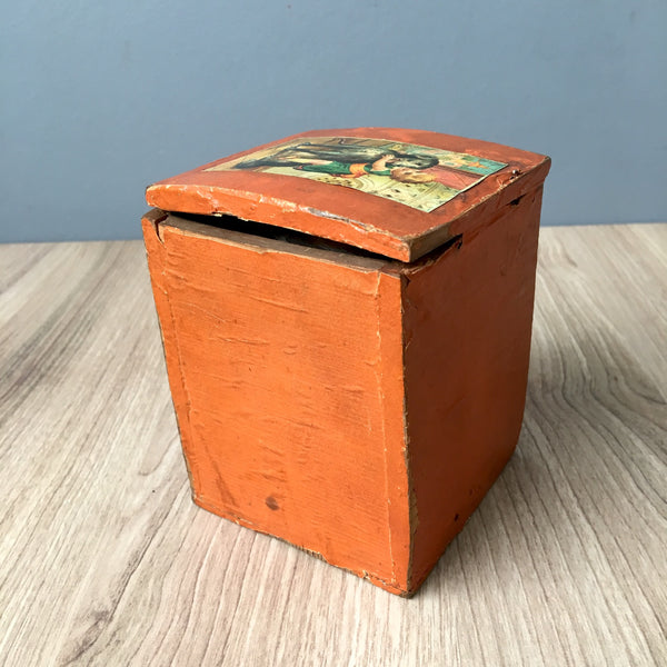 Antique jack in the box - turn of century - possibly German - NextStage Vintage