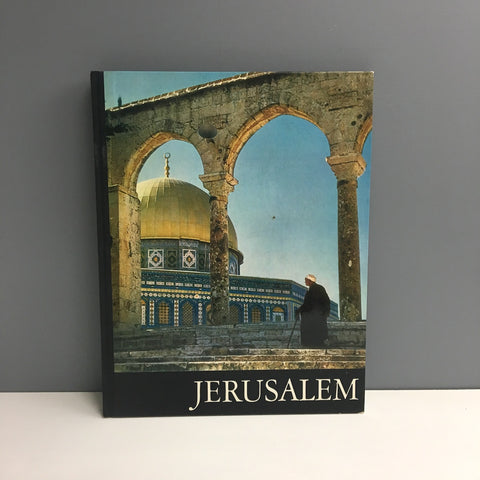 Jerusalem - text by Moshe Tavor, translation by Maria Pelikan - 1969 hardcover - NextStage Vintage