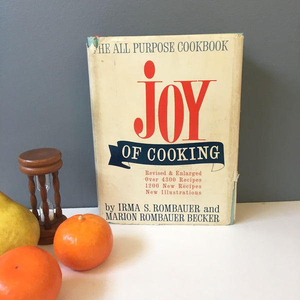 Joy of Cooking -  Rombauer and Becker - 1964 hardcover - NextStage Vintage