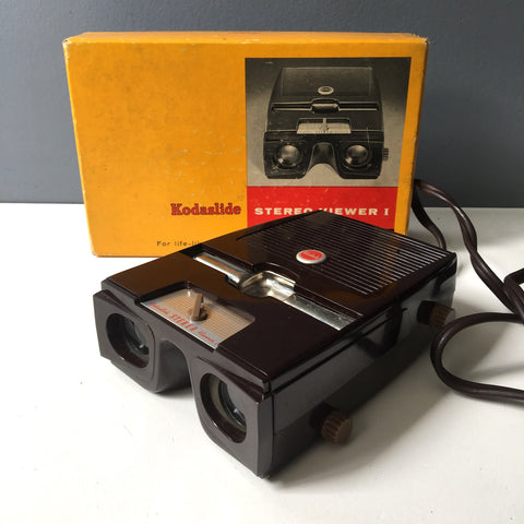 Kodaslide Stereo Viewer I - 1950s vintage 3D slide viewer