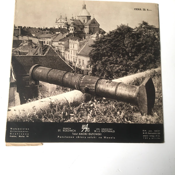 Krakow and Wawel Castle tour booklets in Polish - 1950s travel