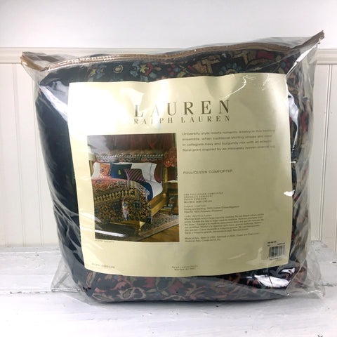 Ralph Lauren Poet Society full queen comforter - new in package