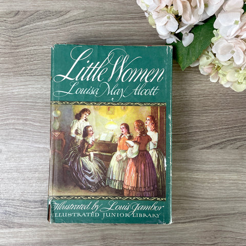 Little Women - Louisa May Alcott - Illustrated Junior Library - 1947 - NextStage Vintage