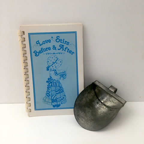Love Stirs Before & After Cook Book - to benefit Santa's Helping Hands in Lynn, MA - NextStage Vintage