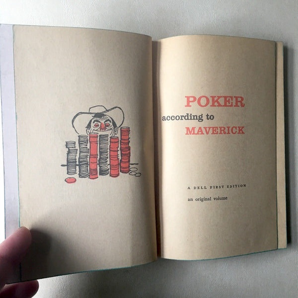 Poker According to Maverick - Dell First Edition - 1959 - NextStage Vintage