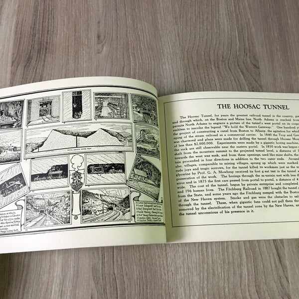 The Trail of the Mohawk - souvenir Mohawk Trail guidebook - 1930s vintage