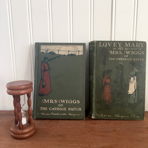 Alice Hegan Rice books - Mrs. Wiggs of the Cabbage Patch and Lovey Mary - 1900s fiction - NextStage Vintage
