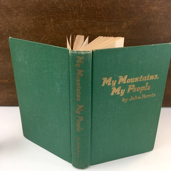 My Mountains, My People by John Parris - 1957 edition - NextStage Vintage