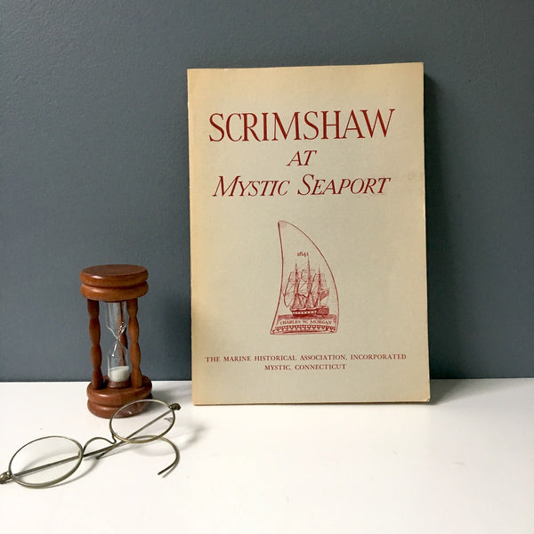 Scrimshaw at Mystic Seaport - Edouard A. Stackpole - 1966 paperback - NextStage Vintage