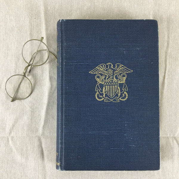 The Naval Officer's Guide by Arthur Ageton - 1943 hardcover book