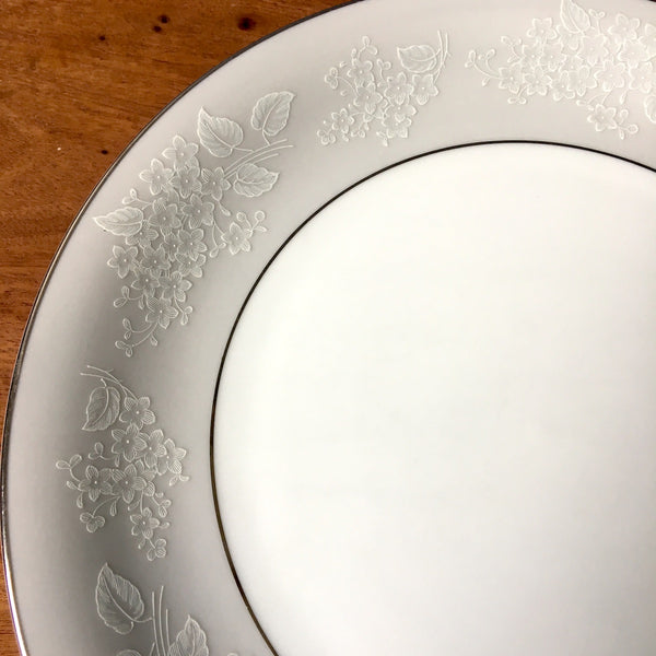Noritake Sabrina dinner plates - Pat. 5590 - set of 4 - 1950s vintage china - NextStage Vintage