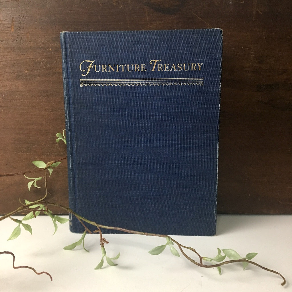 Furniture Treasury by Wallace Nutting  - 2 volumes in 1 - 1963 - NextStage Vintage