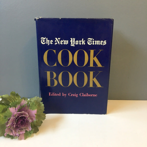 The New York Times Cookbook - edited by Craig Claiborne - 1961 hardcover - NextStage Vintage