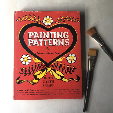 Painting Patterns for Home Decorators Books 1 and 2 - Ruth Wyeth Spears - 1947 - NextStage Vintage