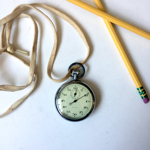 Swiss-made Pastor stopwatch - vintage timer - working, as is - NextStage Vintage