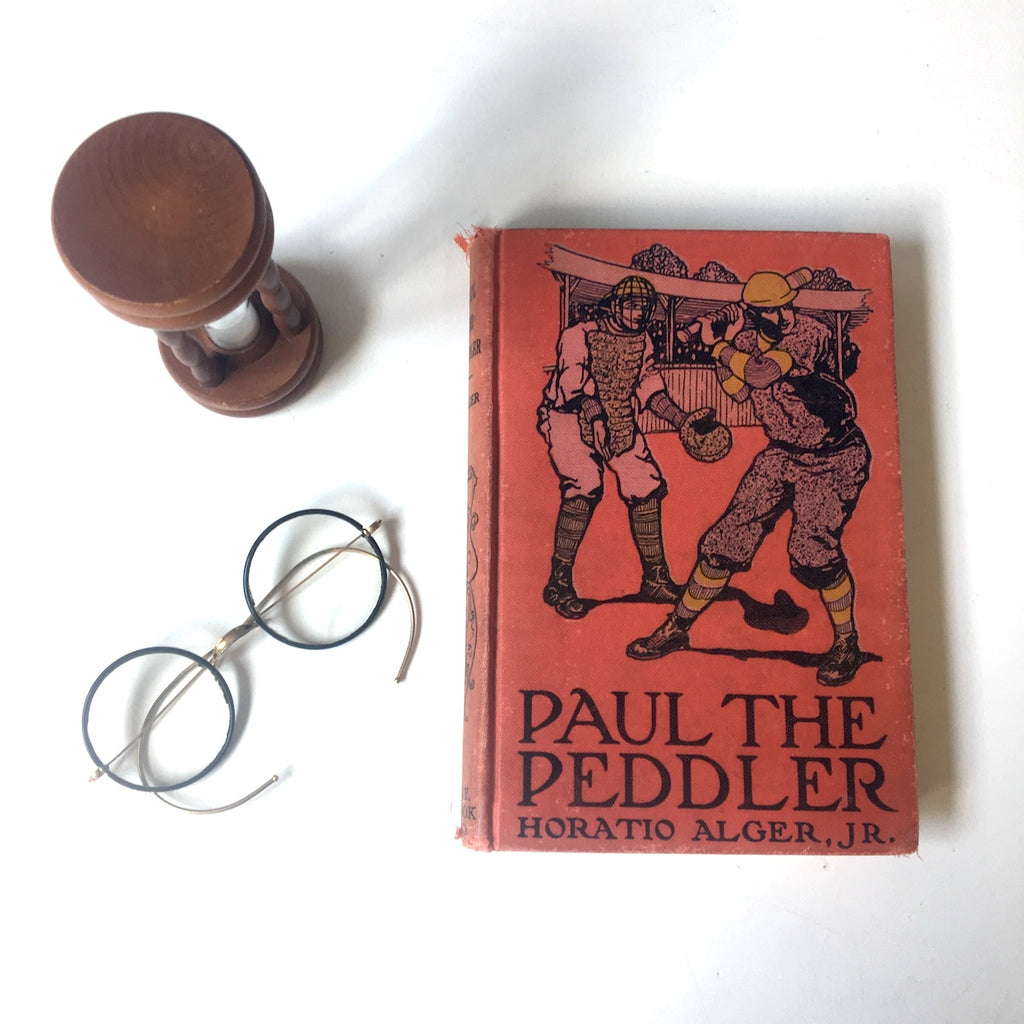 Paul the Peddler - Horatio Alger Jr. - 1909 New York Book Company - NextStage Vintage