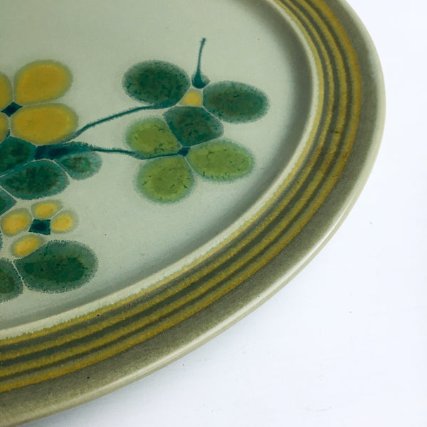 Franciscan Pebble Beach oval platter - 1970s vintage earthenware - NextStage Vintage