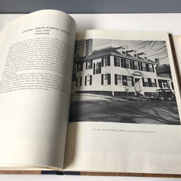 The Architectural Heritage of the Piscataqua - John Mead Howells - Architectural Book Co. 1965 - NextStage Vintage
