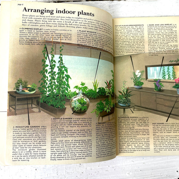 Be Your Own House Plant Expert - Dr. D. G. Hessayon - 1970s booklet - NextStage Vintage