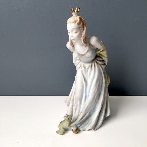 Rosenthal Aqua Gold Princess and the Frog #1793/2 - designed by Lore Friedrich-Gronau