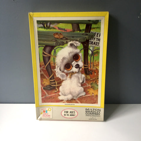 Ragamuffin by Gig jigsaw puzzle by Milton Bradley new in box - No. 4895-7 - 1960s vintage - NextStage Vintage