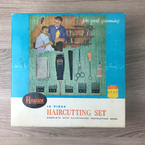 Raycine Haircutting set - Model 274-02 - vintage 1950s-1960s - NextStage Vintage
