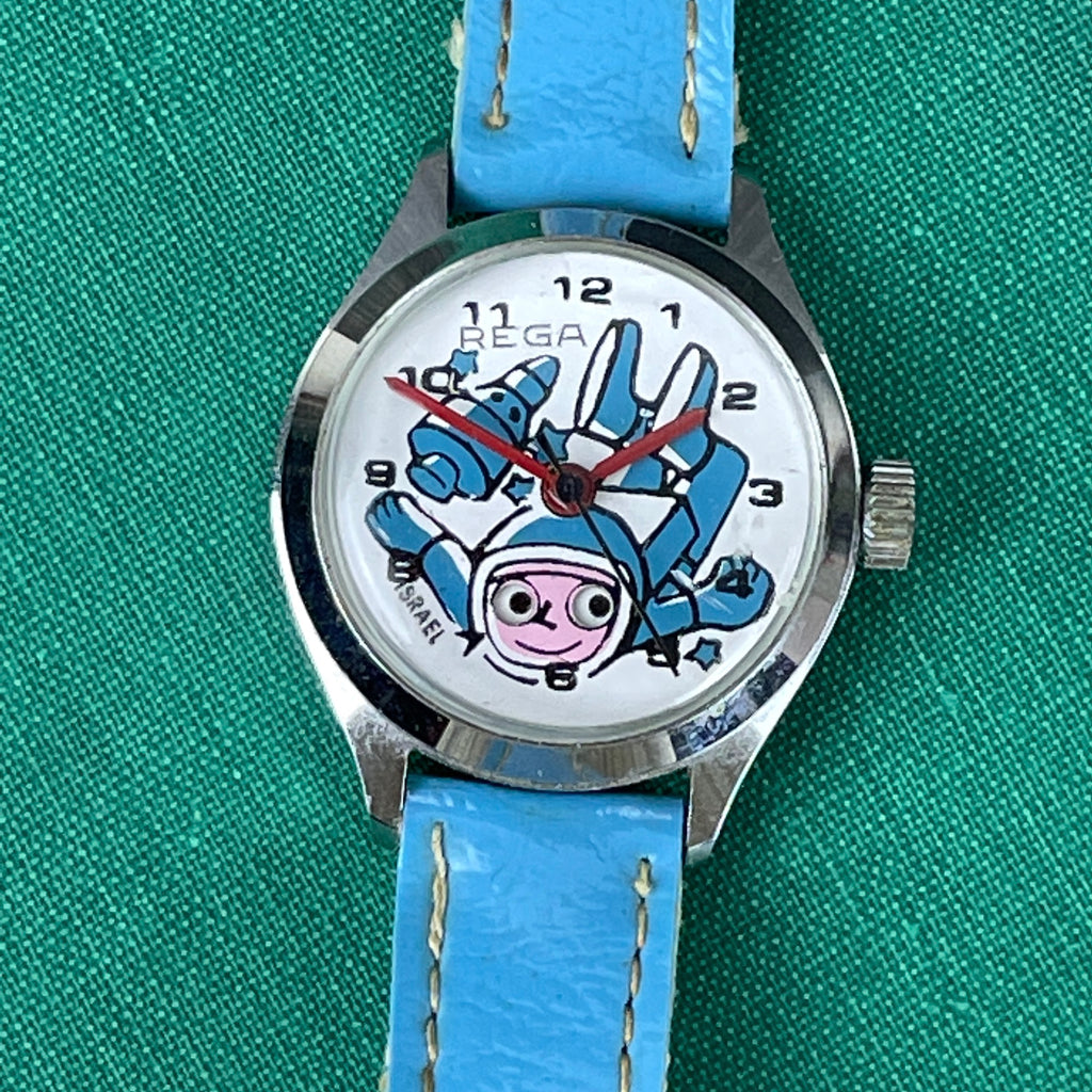 Rega Little Astronaut child's watch - 1960s vintage - NextStage Vintage